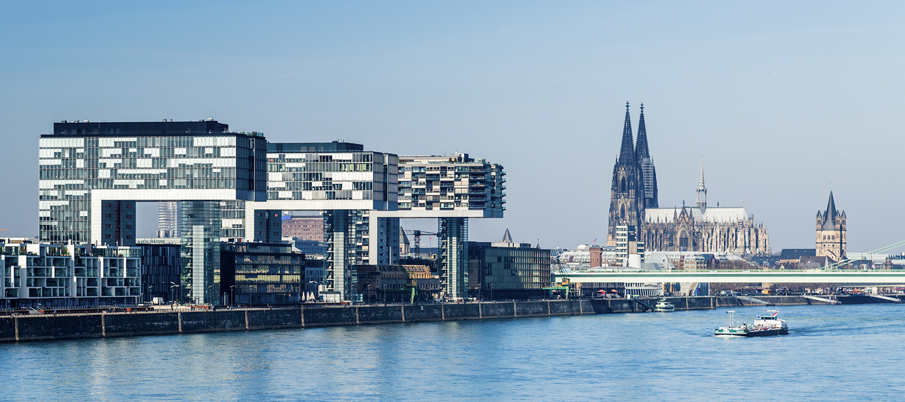 View on Cologne City